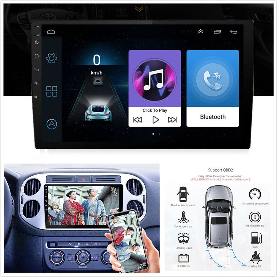 """9/"""" 1080P Android Car DAB+Radio Stereo Player GPS BT Wifi Built-in 4G for Mazda 3"""