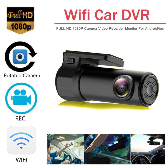 Mini WIFI Dash Cam HD 1080P Car DVR Camera Video Recorder Night Vision G-sensor - Lifafa Denmark