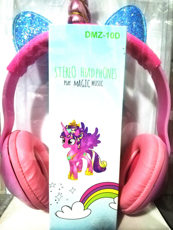 Wired Kids Girl Unicorns Cat Ear Headphone, Høretelefoner - Lifafa Denmark