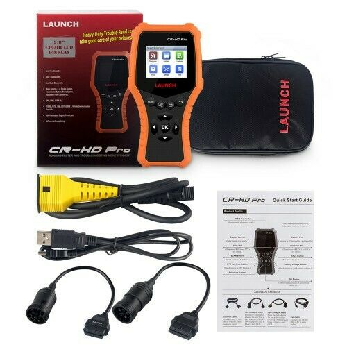 LAUNCH CR-HD Pro Car and Truck OBD2 HOBD Code Reader Tester - Lifafa Denmark