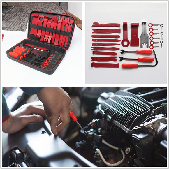 24 Pcs Professional Handheld Car SUV Panel Dash Audio Radio Removal Pry Tool Set - Lifafa Denmark