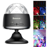 BASEUS Rotary Voice Control Car Crystal Magic Ball Light Stage Party Club Lampe - Lifafa Denmark