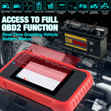 LAUNCH CRP129E OBD2 EOBD Diagnostic Tool Code Reader for Oil EPB SAS TPMS Reset