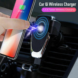 Wireless Charger Car Phone Mount Holder Bracket For iPhone XR XS Samsung S9+ - Lifafa Denmark