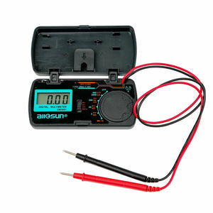 All-Sun Em3081 Digital Multimeter for Measuring DC and AC Voltage Auto Tester