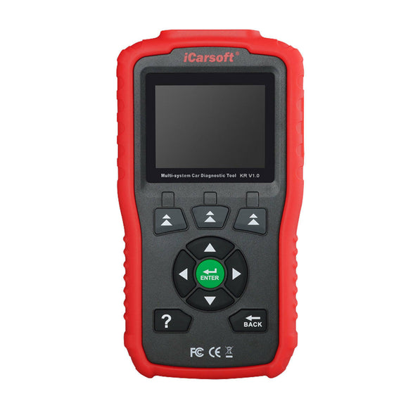 iCarsoft KR V1.0 MULTI-SYSTEM DIAGNOSTIC SCAN TOOL FOR KIA HYUNDAI DAEWOO - Lifafa Denmark