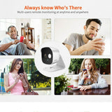 3.0MP IP Camera WIFI Baby Monitor Tracking Alarm IP-kamera - Lifafa Denmark