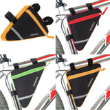 Bicycle Triangle Frame Front Bag Saddle Panniers Cycling Bike Tube Pouch Holder - Lifafa Denmark
