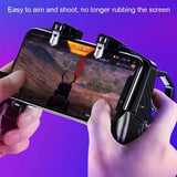 4-Finger Mobile Phone Game Controller Gamepad Joystick Wireless iPhone Android - Lifafa Denmark