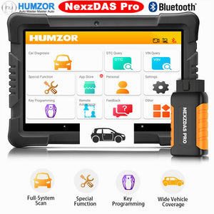 Humzor NexzDAS Pro Bluetooth Tablet OBD Car Diagnostic Tool ABS, IMMO, EPB, SAS, DPF