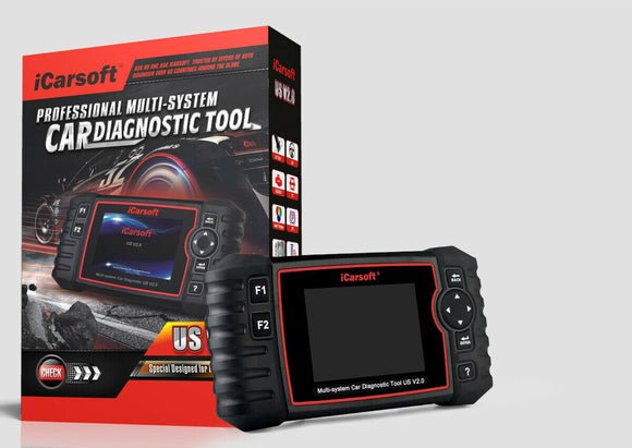 iCarsoft US V2.0 Multi-System Diagnostic Tool For FORD/GM/CHRYSLER/JEEP/HOLDEN