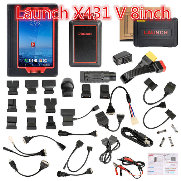 Launch X431 V 8inch Tablet Wifi/Bluetooth OBD Full Diagnostic Tool - Lifafa Denmark