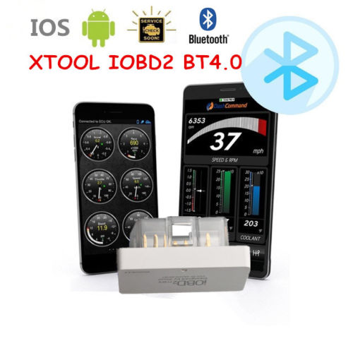 XTOOL iOBD2 mini Bluetooth 4.0 EOBD OBD2 KFZ Auto Interface Diagnose Android iOS - Lifafa Denmark