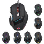 LED Optical 5500 DPI 7 Button USB Wired Gaming Mouse Mice For Pro PC - Lifafa Denmark