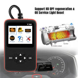 Heavy Duty Truck Scan Tool og OBD2 Vehicle Scanner DPF og Oil Reset Code Reader V500 - Lifafa Denmark