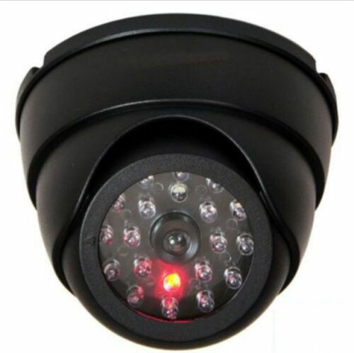 Dummy Dome Fake Security Camera CCTV 30pc False IR LED W Blinkende rødt LED-lys