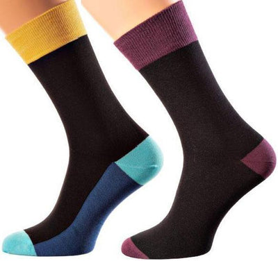 Bangkok Collection - Mercerized Cotton Socks - Crew Length - Sizes M-XL MEN SOCKS SOXESSORY