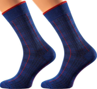 Belfast Collection - Mercerized Cotton Socks - Crew Length - Sizes: M-XL - SOXESSORY