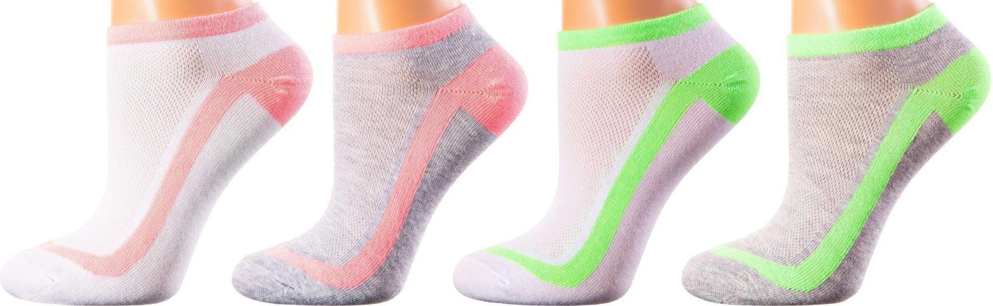 Copenhagen Collection - Mercerized Cotton Socks - Quarter Length - Sizes: S-L