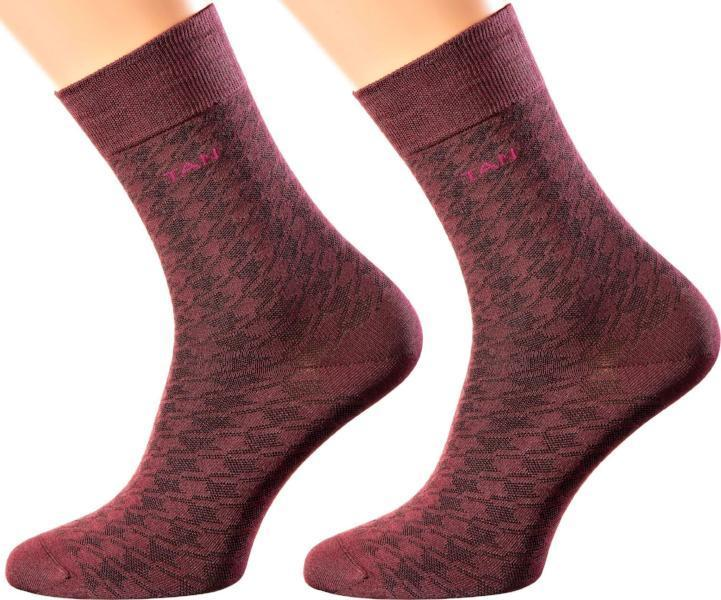 Cyprus Collection - Mercerized Cotton - Crew Length - Super Breathable Socks by Famous Designer Andre Tan - Sizes M-XL