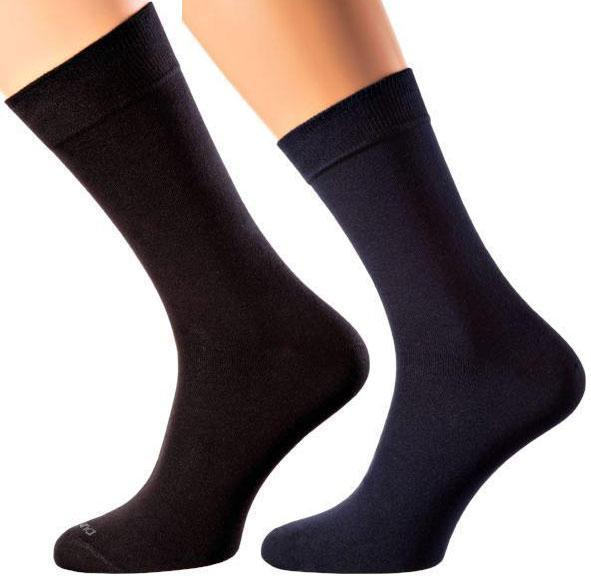 Frankfurt Collection - Mercerized Cotton Socks - Crew Length - Sizes M-XL