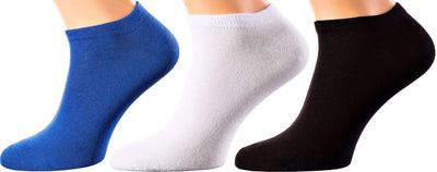 Ibiza Collection - Top Quality Mercerized Cotton - Quarter Length Sizes: M-XL MEN SOCKS SOXESSORY
