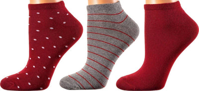 Madrid Collection - Mercerized Cotton Socks - Superior Quality - Quarter Length - Size: S-L WOMEN SOCKS SOXESSORY