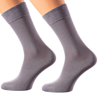 Milan Collection - Bamboo Socks  - Super Breathable - Sweat Defense - Long Lasting - Executive Length (Crew) - S-XL Sizes - Many Colors - SOXESSORY