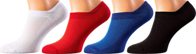 Monte Carlo Collection - Mercerized Cotton Socks - Quarter Length - Sizes: M-XL MEN SOCKS SOXESSORY