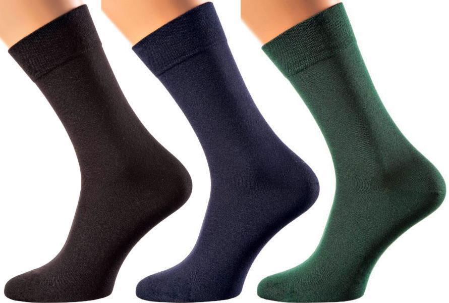 Portofino Collection - Bamboo Socks  - Super Breathable - Sweat Defense - Long Lasting - Executive Length (Crew) - S-XL Sizes - Many Colors