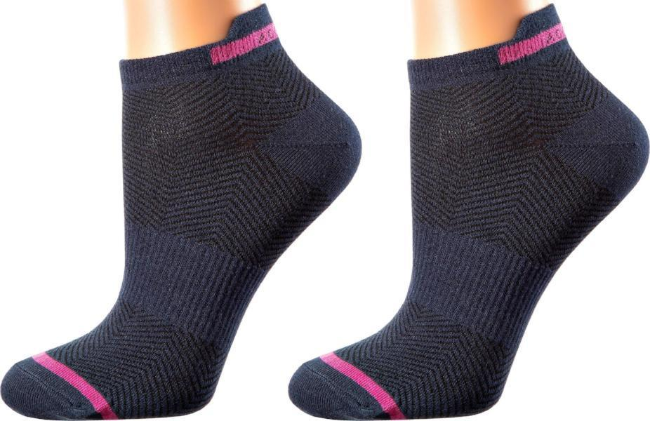 Rio de Janeiro Collection - Mercerized Cotton Sports Socks - Back and Upper Foot Support, Seamless Toes - Quarter Length - Sizes: S-L