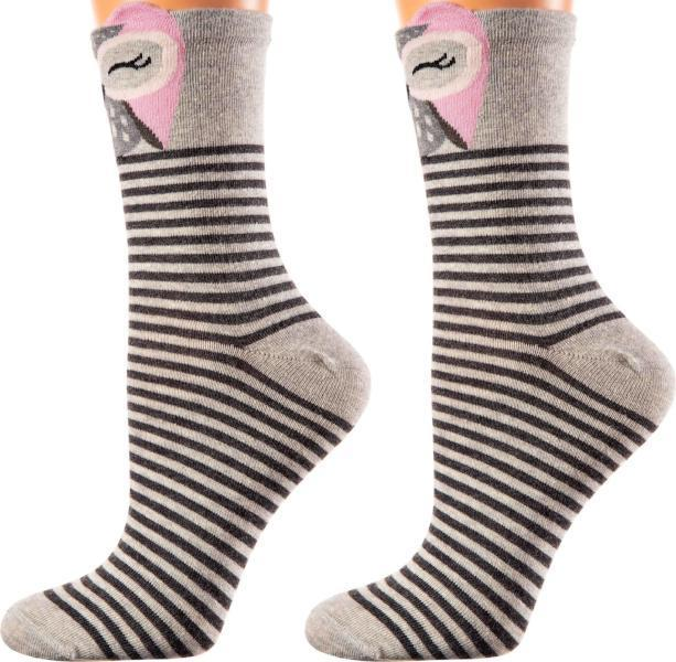 Toronto Collection - Mercerized Cotton Socks - Crew Length - Sizes: S-L