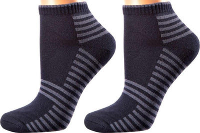 Valencia Collection - Mercerized Cotton Socks - Quarter Length - Size: S-L - SOXESSORY