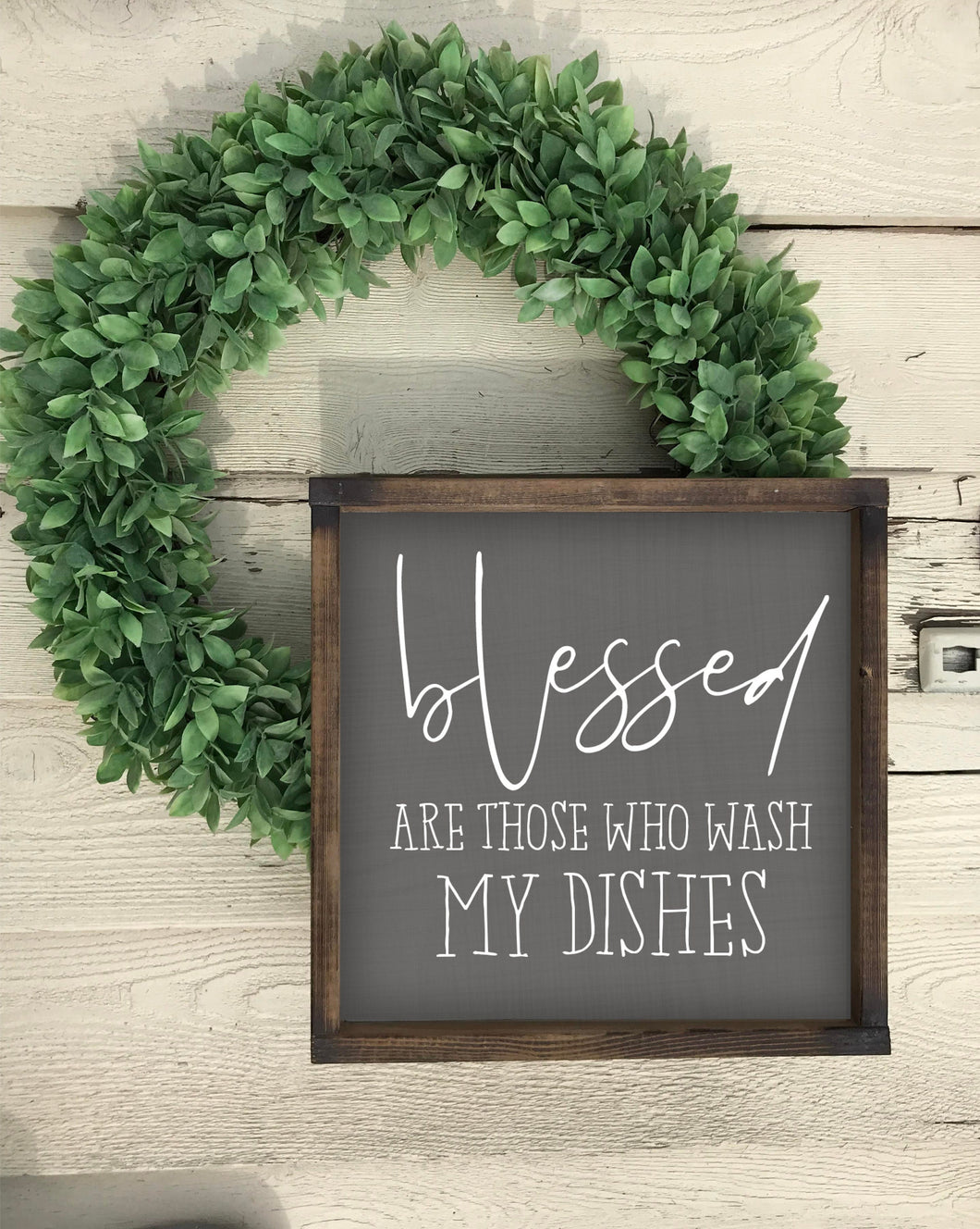 Kitchen sign // Dishes sign // dirty dishes sign // tiered tray sign // mini sign// funny kitchen sign // kitchen decor // kitchen humour