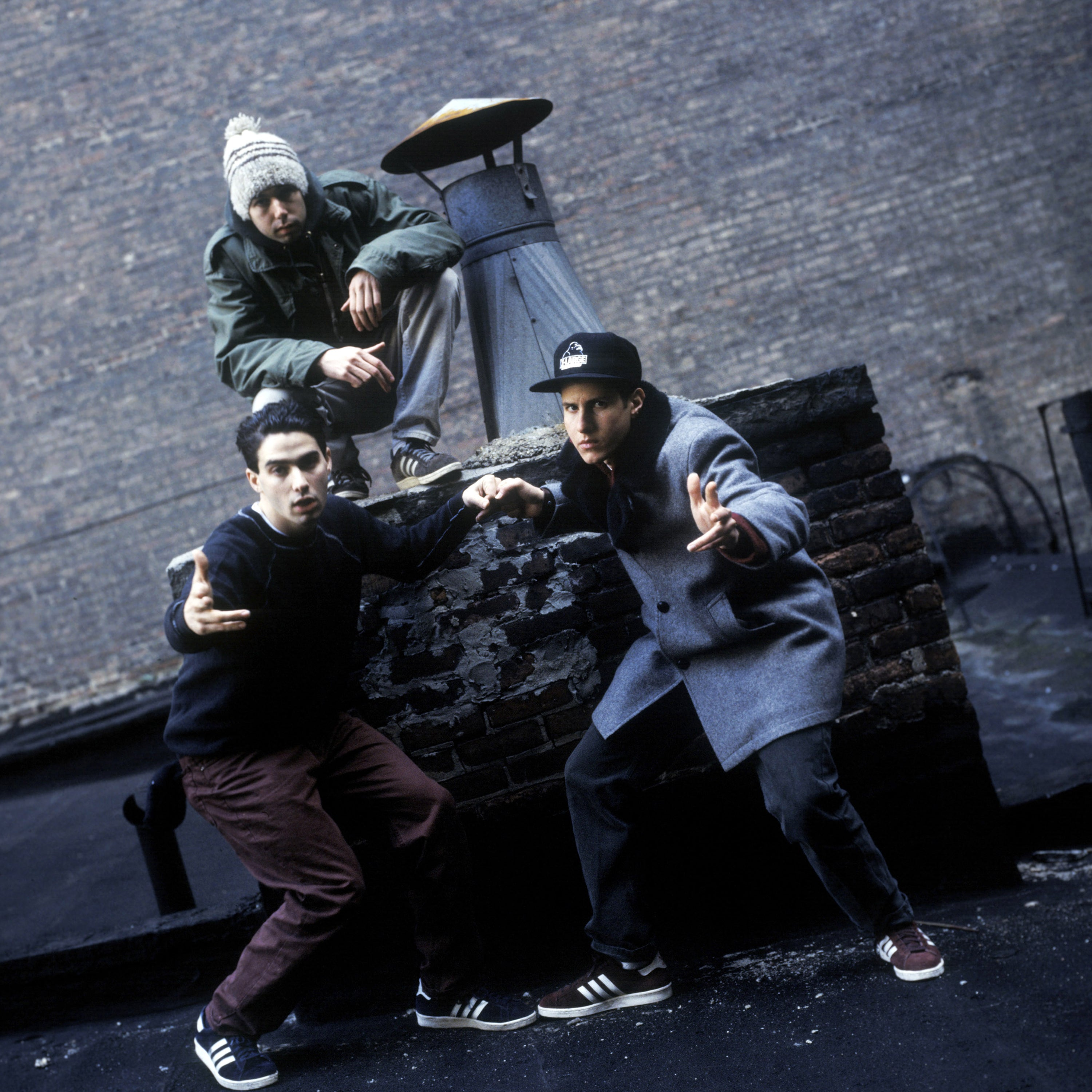 Ad-Rock, MCA and Mike D, of Beastie Boys New York, New York, 1994