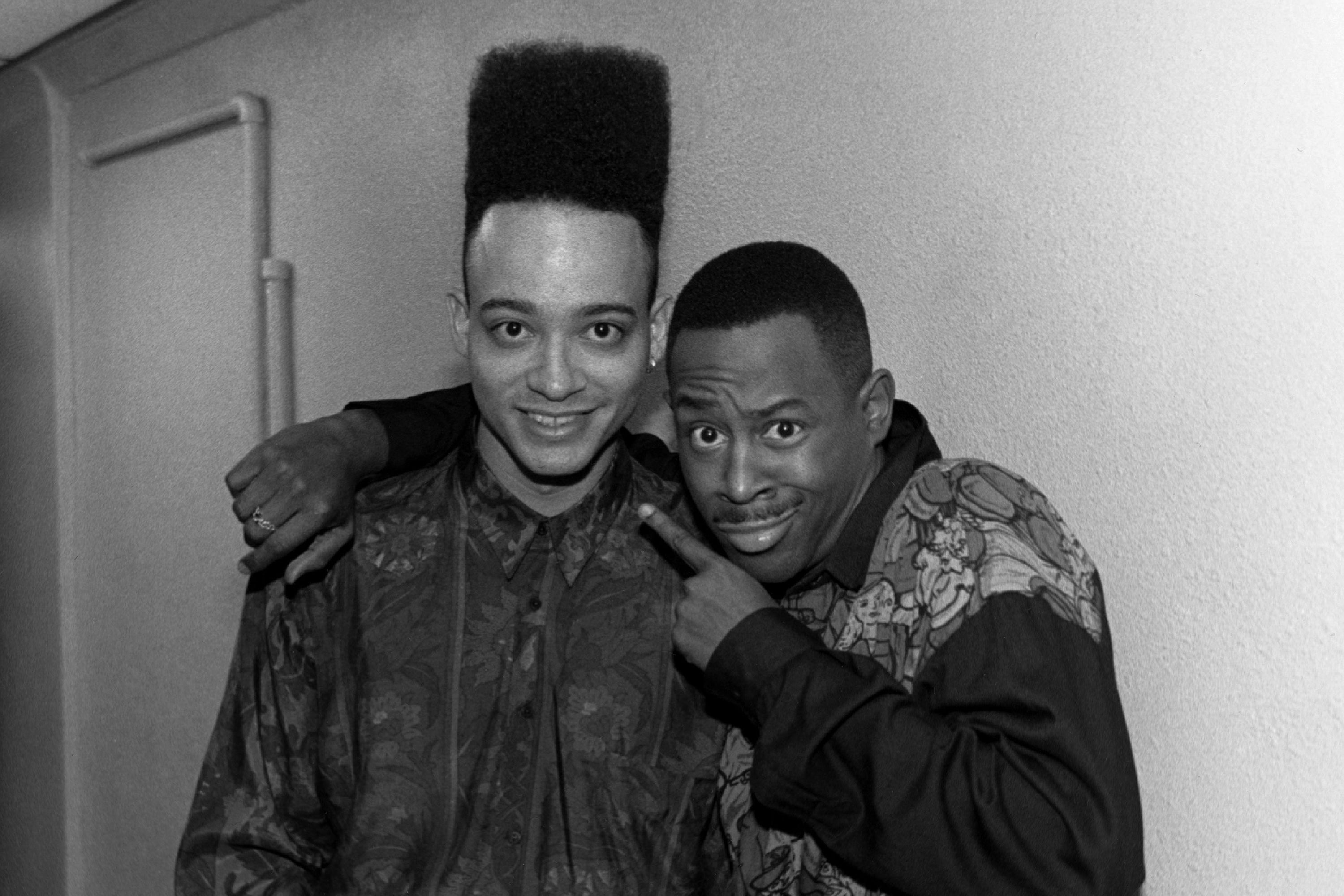 "Christopher ""Kid"" Reid of Kid 'n Play and comedian and actor Martin Lawrence"