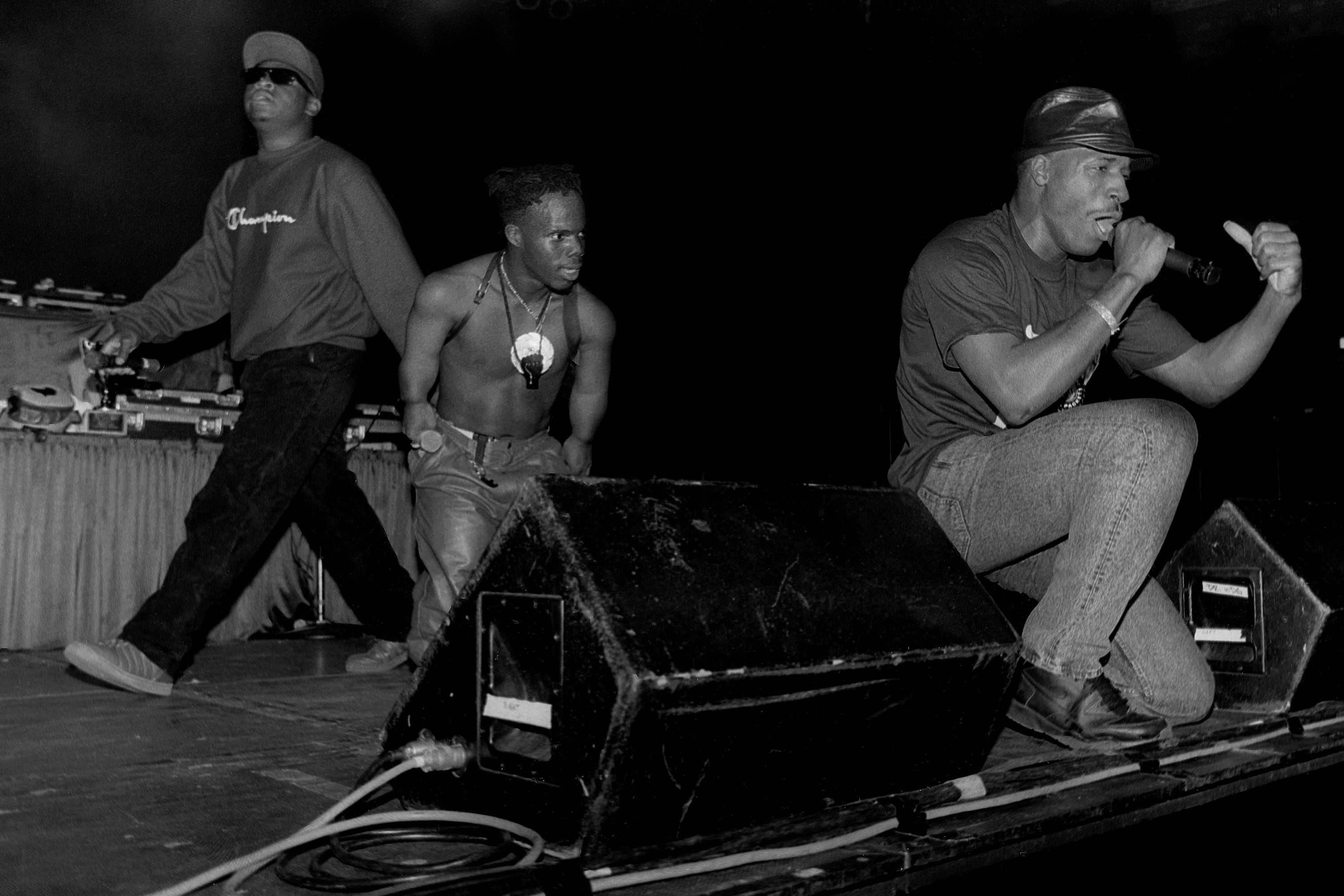 Scarface, Bushwick Bill and Willie D of The Geto Boys
