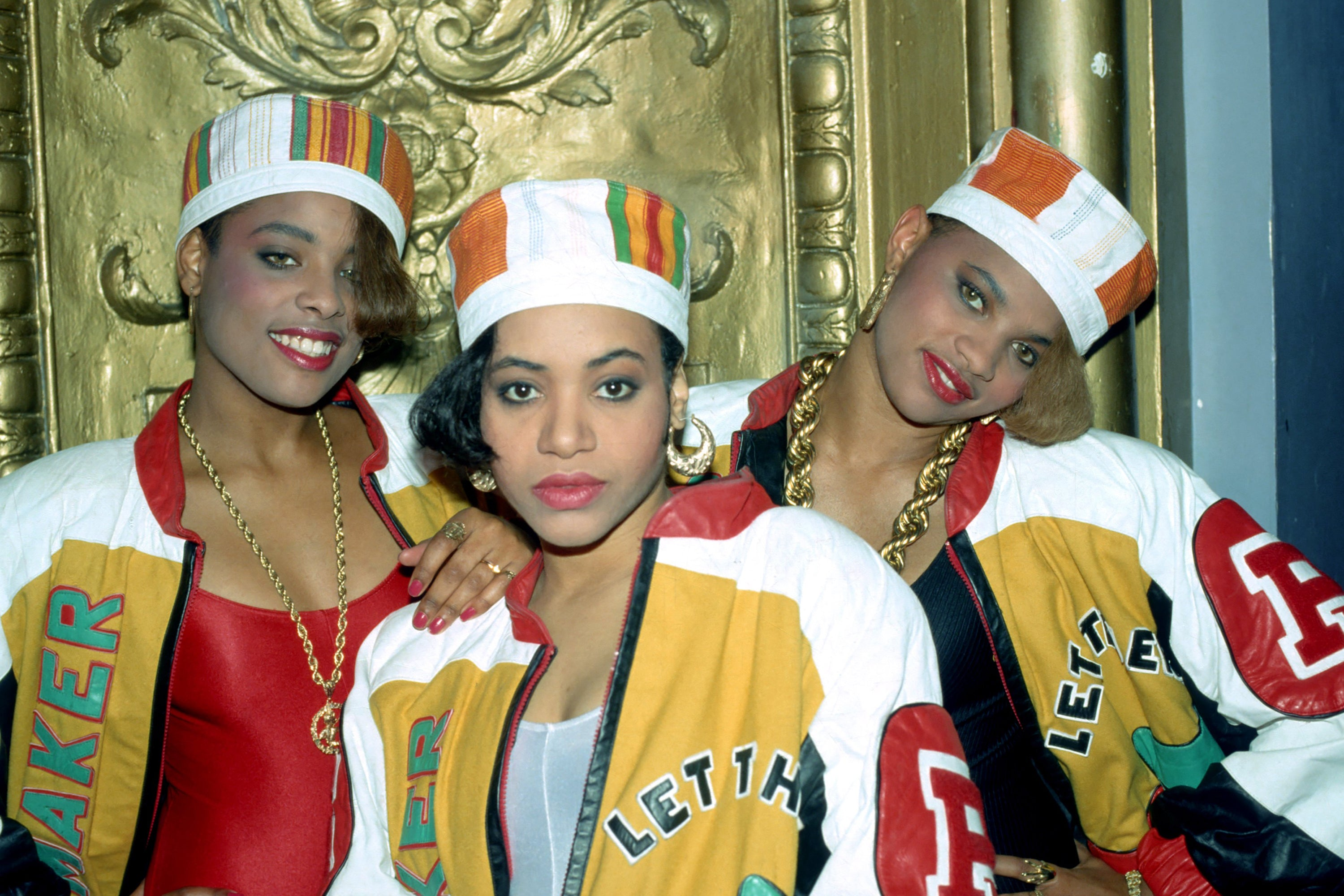 Salt-N-Pepa and DJ Spinderella in 1988