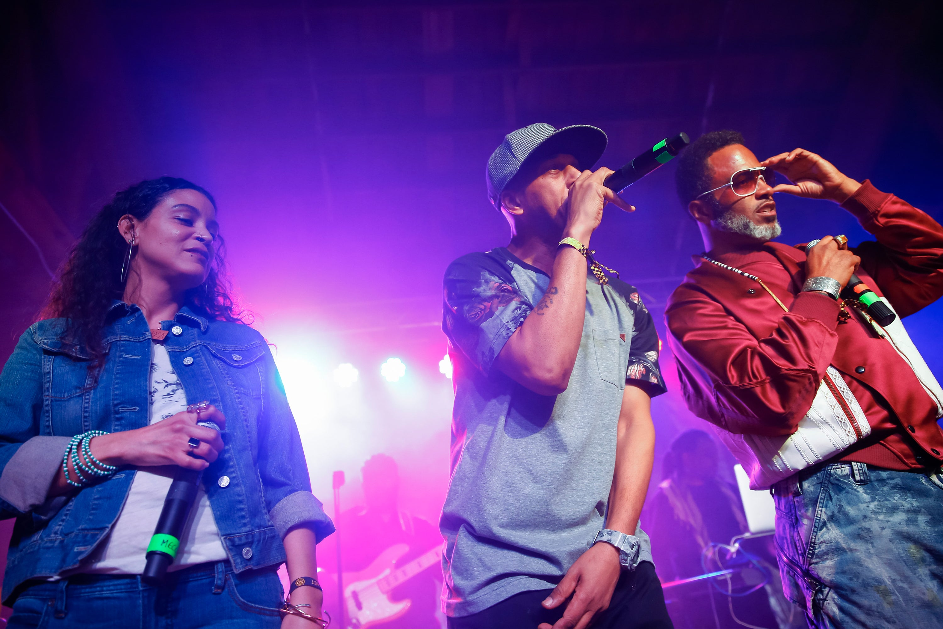 Digable Planets performs at the House Of Vans Opening In Chicago, Illinois on Feb 3, 2017. (Photo by Michael Hickey/Getty Images)