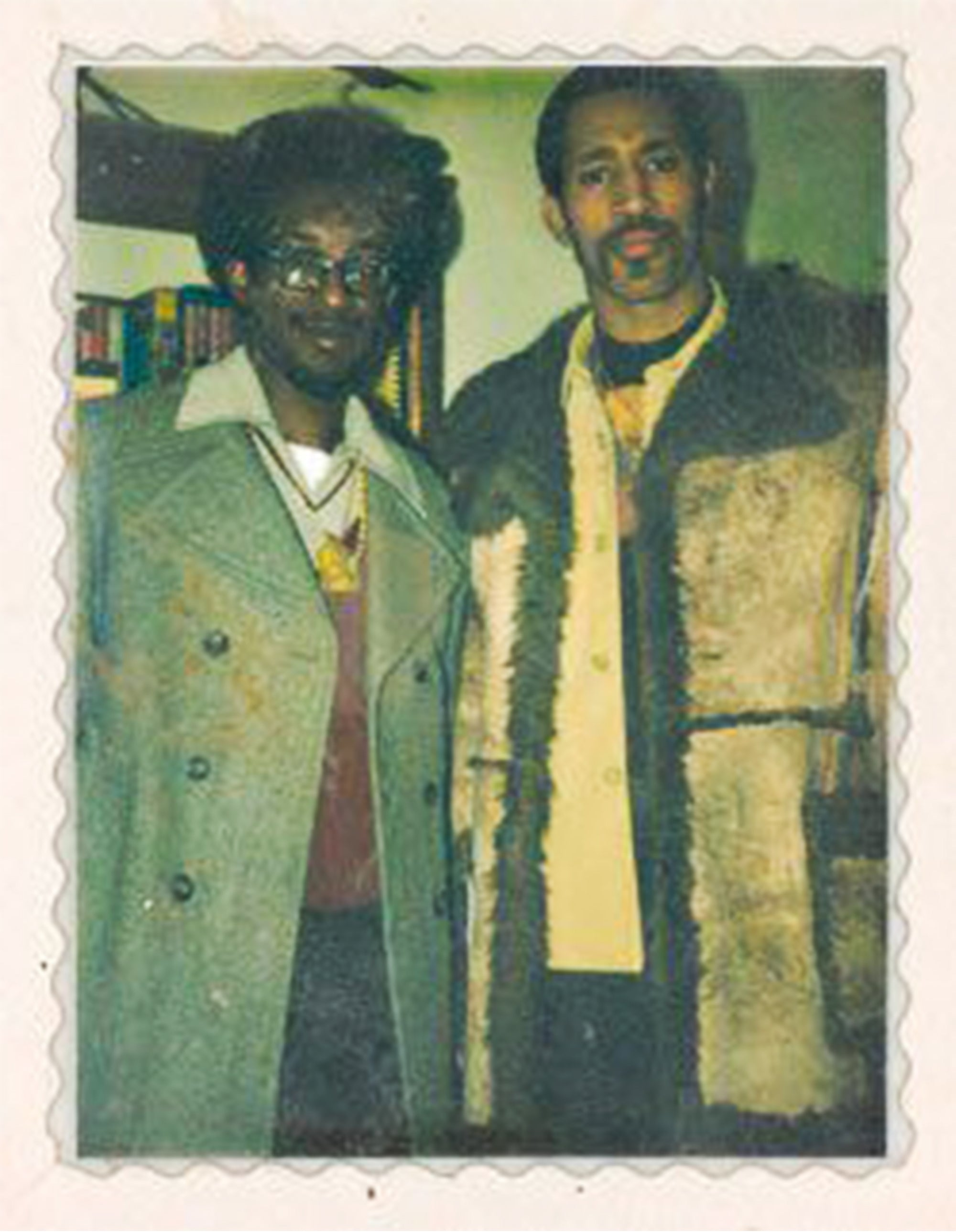 Coke La Rock and DJ Kool Herc