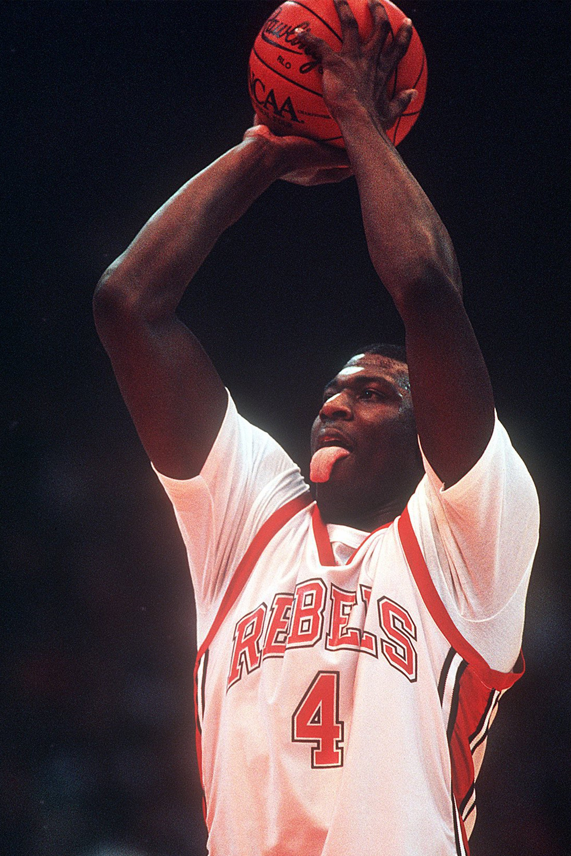 Larry Johnson #4 UNLV Running Rebels