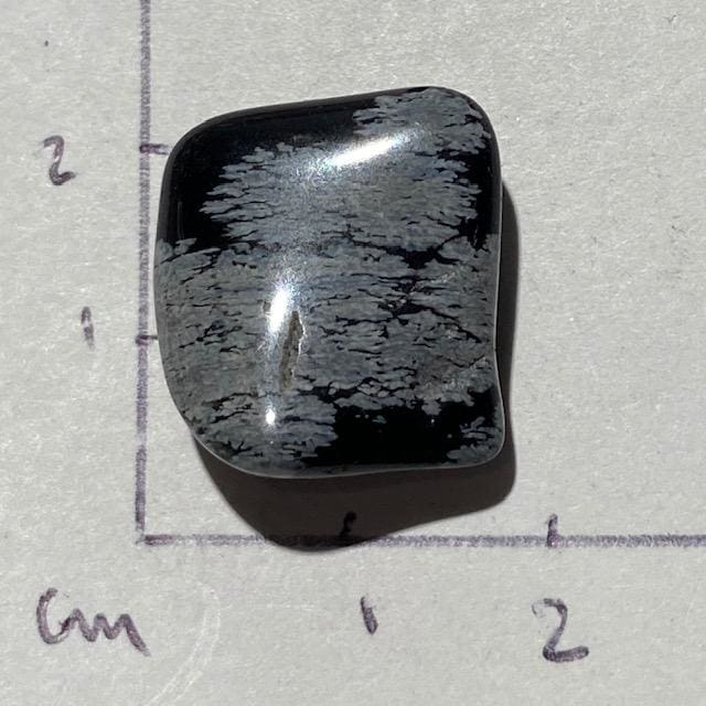 Obsidienne Flocon de neige