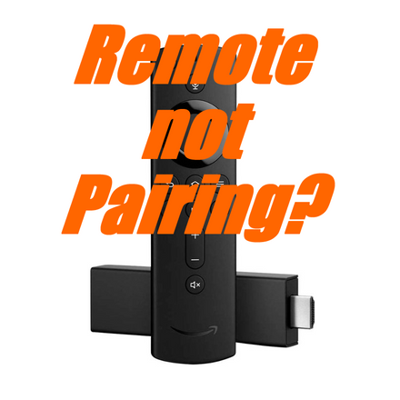 Firestick remote not pairing?  Here's how to fix it.