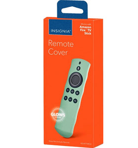 Insignia™ - Fire TV Stick Glowing Remote Cover - Clear / Glow