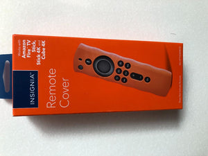 Insignia™ - Fire TV Stick Remote Cover - Orange