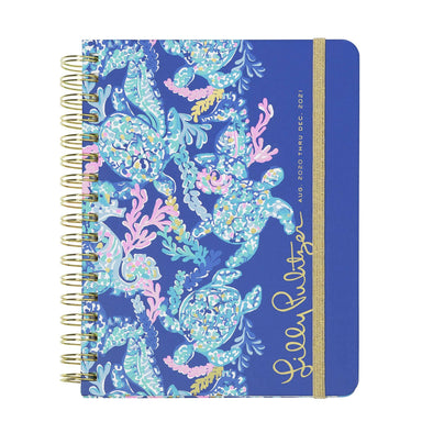 2020-2021 LILLY PULITZER 17 MONTH LARGE AGENDA IN TURTLE VILLA