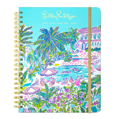 2020-2021 LILLY PULITZER 17 MONTH JUMBO AGENDA IN ISLAND HOPPING