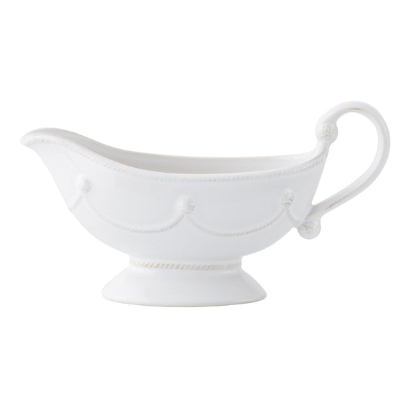 BERRY & THREAD SAUCE BOAT W/ PLATE