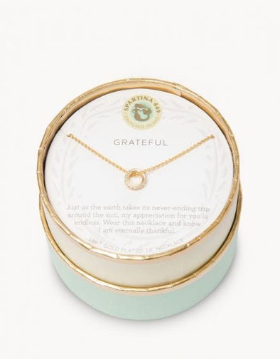GRATEFUL SEA LA VIE NECKLACE