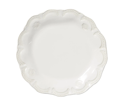 INCANTO WHITE LACE DINNER PLATE LACE